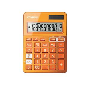 Bordregner Canon LS-123 K, orange, 12 cifre