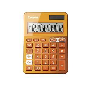 Bordsräknare Canon LS-123 K, orange, 12 siffror