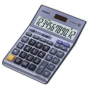 Calculatrice de bureau Casio DF-120TER II - 12 chiffres - métal/bleu