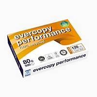 Kopierpapier Evercopy Performance  A4, 80 g/m2, weiss, Pack à 500 Blatt