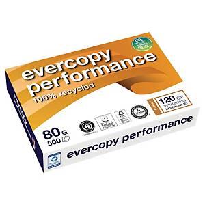 Papier recyclé blanc A4 Clairefontaine Evercopy Performance 80 g - 500 feuilles