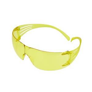 3M Securefit SF203AF safety glasses - amber lens