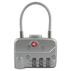 Pavo biztonsági lakat, méret: 7,8 x 5 x 1,3 cm