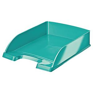 LEITZ WOW 5226 LETTER TRAY ICE BLUE