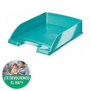 Leitz Wow 5226 A4 Letter Tray ICE Blue