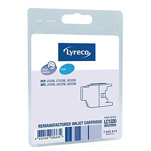 Blækpatron Lyreco Brother LC1220 300 sider cyan