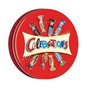 Assortiment de chocolats Célébrations - boîte métal de 450 g