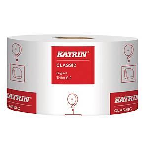 Toiletpapir Katrin 106101 Classic Gigant S2, pakke a 12 ruller