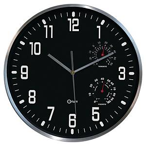 Cep Hygro-Thermo hodiny, průměr 30 cm