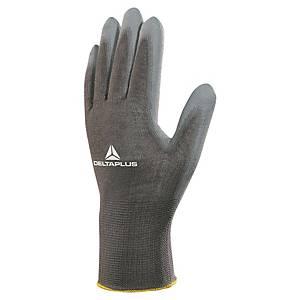 Víceúčelové rukavice DELTA PLUS VE702PG, velikost 10, šedé