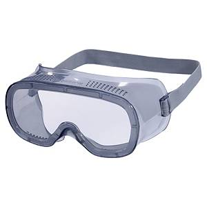 Safety glasses polycarbonate with ventilation - transparent