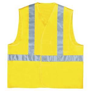 Gilet de sécurité haute visibilité Deltaplus - jaune fluo - taille L