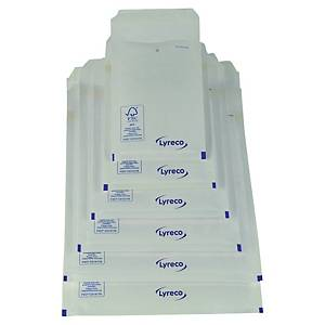 Lyreco air bubble envelopes 360x270mm white - pack of 100