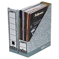 Fellowes Bankers Box System 80mm Magazine File - Grey
