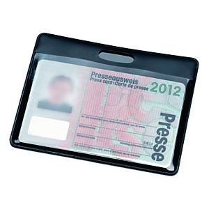 Porte-badge Hidentity, protection RFID, 90 x 60 mm, les 10 badges