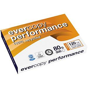 Kopierpapier Evercopy Performance  A3, 80 g/m2, weiss, Pack à 500 Blatt