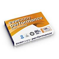 Clairefontaine Evercopy Performance gerecycled wit A3 papier, 80g, 5 x 500 vel