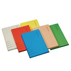 Jalema Secolor document folder A4 3 clips grey