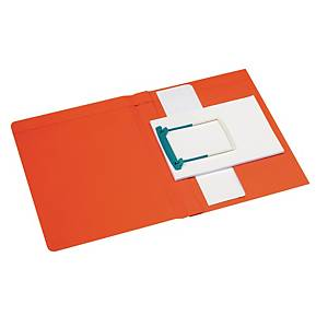 Jalema Secolor chemise Clipex Plus A4 rouge