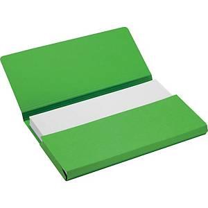 Jalema Secolor farde pocket A4 vert - paquet de 50