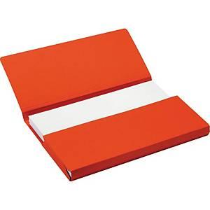 Jalema Secolor farde pocket A4 rouge - paquet de 50