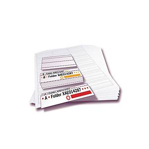Tabs for suspension files Alzicht - pack of 25