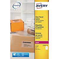 Avery L7567-25  Labels, 210 x 297 mm 1 Label Per Sheet, 25 Labels Per Pack