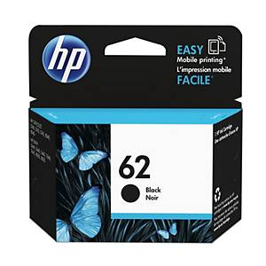 HP 62 (C2P04AE) inkt cartridge, zwart