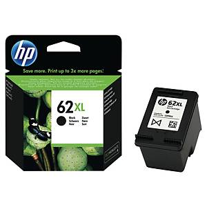 HP 62XL High Yield Black Original Ink Cartridge (C2P05AE)