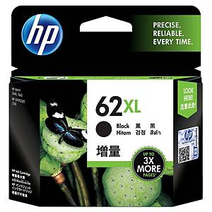 HP 62XL High Yield Black Original Ink Cartridge (C2P05AE)