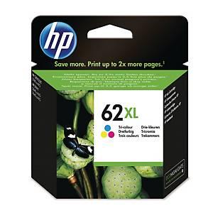 HP 62XL High Yield Tri-Colour Original Ink Cartridge (C2P07AE)