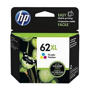 Cartuccia inkjet HP C2P07AE 62XL 415 pag colori