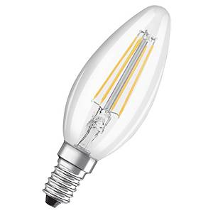 OSRAM LED STAR FLAME BULB E14 40W CLEAR
