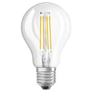 OSRAM LED STAR SPHERE BULB E27 40W CLEAR