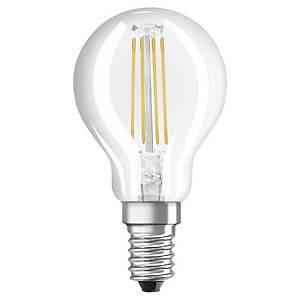 Ampoule LED sphérique Osram Star - 4 W = 40 W - culot E14