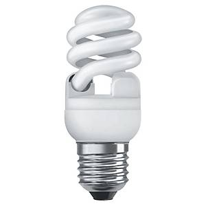 Ampoule fluocompacte éco spirale Osram Superstar - 15 W = 75 W - culot E27