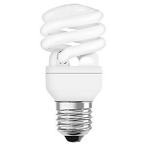 Ampoule fluocompacte éco spirale Osram Superstar - 21 W = 100 W - culot E27