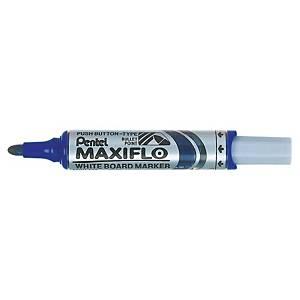 Whiteboardpenna Pentel Maxiflo, blå