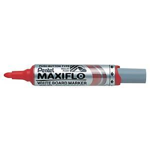 Whiteboardpenna Pentel Maxiflo, röd