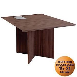 Modulo complementare TDM per tavolo riunione modulare L108 x P120 x H74cm rovere