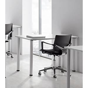 Mesa polivalente Ofitres - an. 1200 mm - blanco/blanco