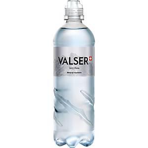 Valser Silence Mineralwasser o.Kohlensäure, Sports Cap 75 cl, Pk. à 6 Flaschen