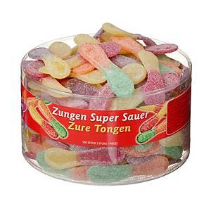 Saure Zungen, Packung à 100 Stück