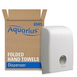 Aquarius Folded Hand Towel Dispenser 6945 - White