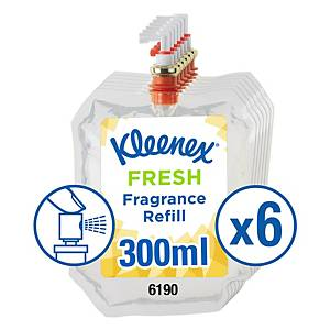 Kleenex Botanics Aircare Fragrance Fresh Refill 6190, Clear,6x300ml (1800ml tot)