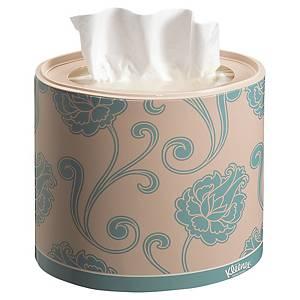 Kleenex® Oval papieren zakdoekjes, 3-laags, doos van 64 tissues