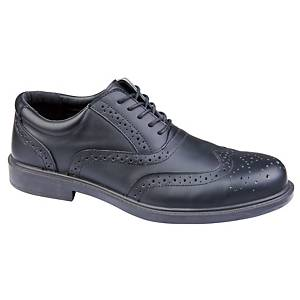 DELTAPLUS RICHMOND SAFETY SHOE BLACK SIZE 9