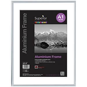 Aluminium Frame Size A1 Silver