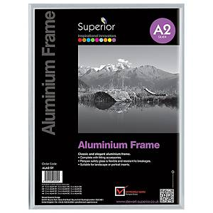 Aluminium Frame Size A2 Silver