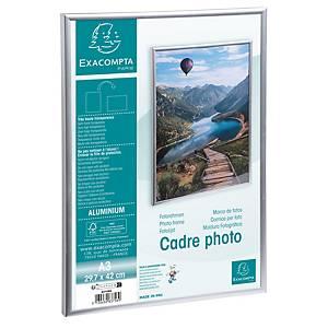 Ramme Stewart, aluminium, A3, sølv